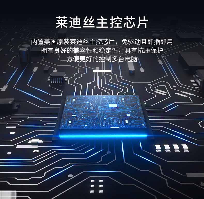 网口LCD KVM切换器KS-2732C----04