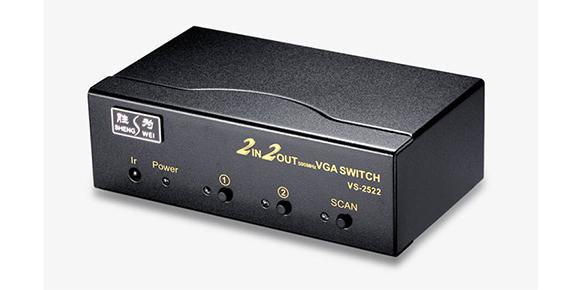 胜为矩阵VGA视频切换器VS-2522