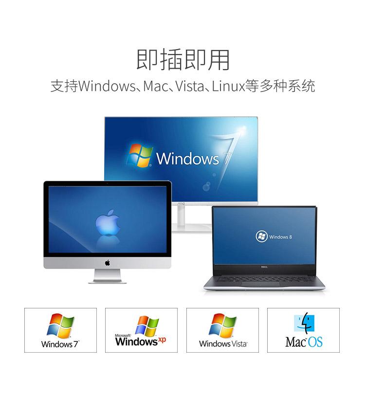 胜为4进4出USB共享切换器US-404----详情10