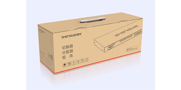 数字KVM切换器包装展示-胜为科技