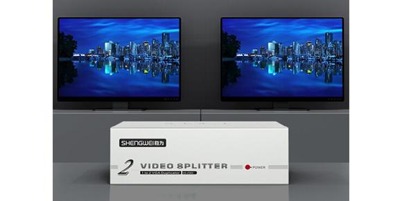 胜为一进二出VGA视频分配器VS-2502