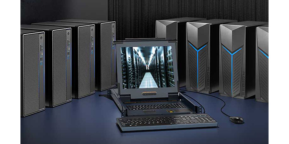 胜为LCD KVM切换器系列产品