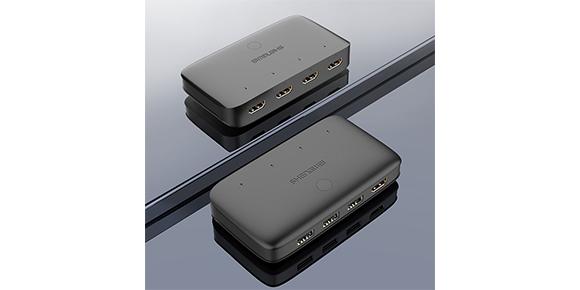 胜为4进1出HDMI KVM切换器KS-304H__新外观