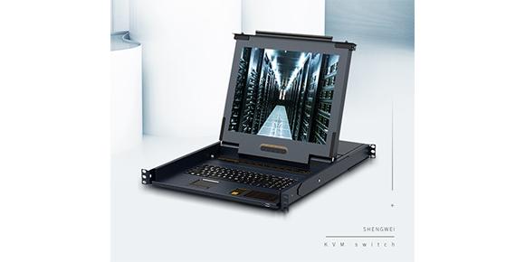 一体式网口KVM切换器-胜为