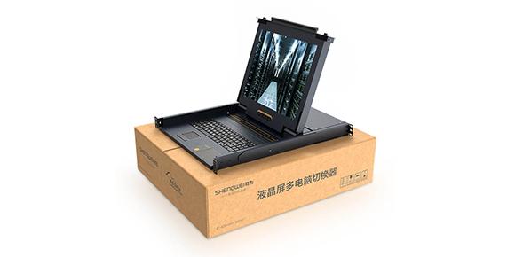 数字LCD KVM切换器-胜为科技