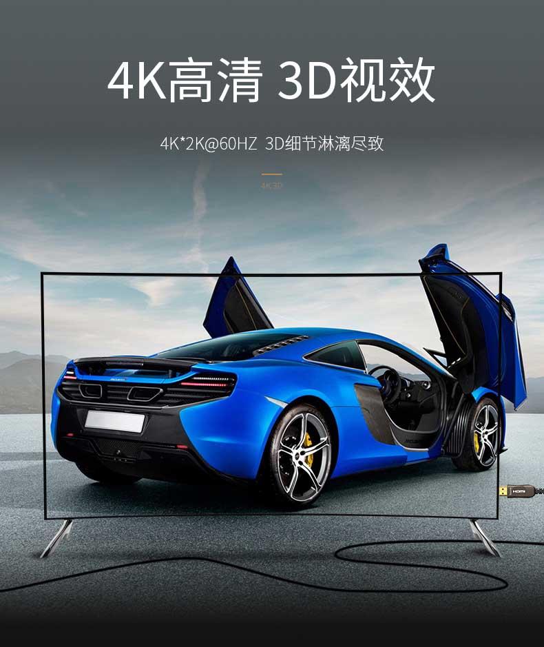 胜为4K光纤HDMI高清连接线---03