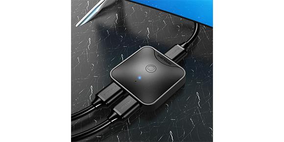 2口高清HDMI分配器-连接展示