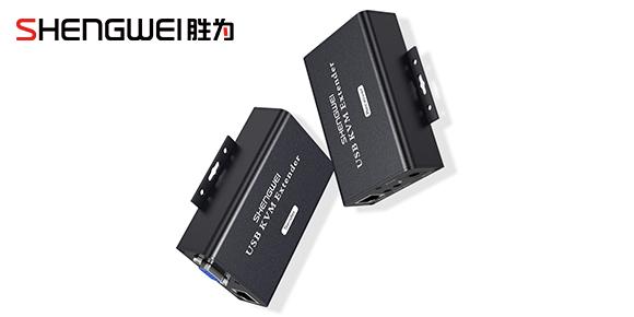 胜为USB KVM信号延长器KEC-1100AB.