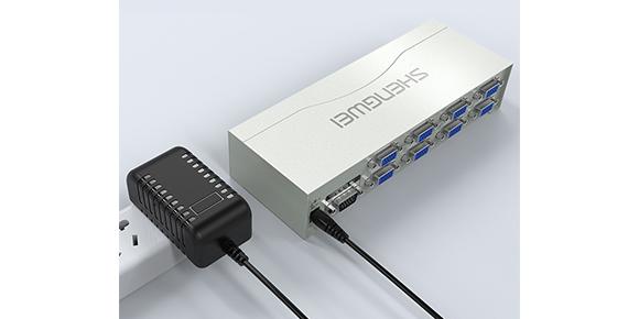 胜为一进八出高清VGA分配器VS-2508_产品展示