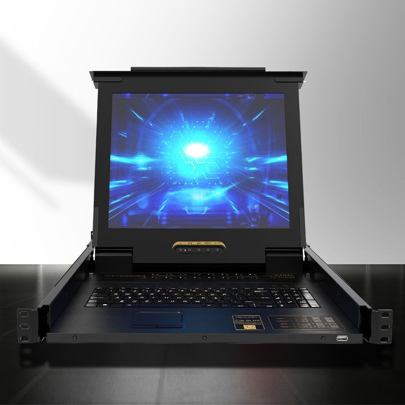 KVM切换器16口 带17英寸LCD显示器KS-2716LCD