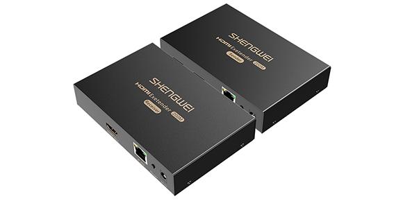 胜为网络传输HDMI信号延长器HEC-2200AB__产品展示