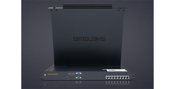 8进1出网口KVM切换器-胜为科技