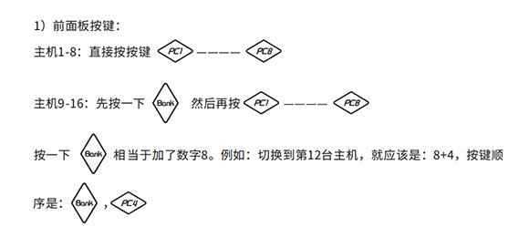 胜为HDMI KVM切换器切换方式-1