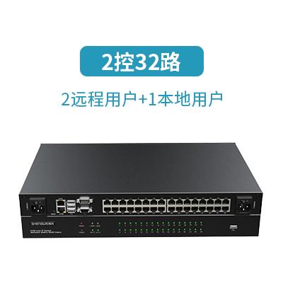32口远程IP KVM切换器KS-3232IP