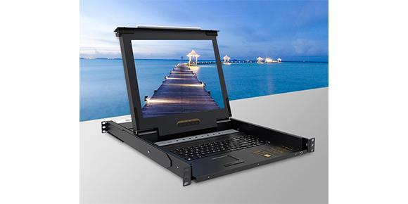 胜为16口带屏幕KVM控制平台KS-2916LCD