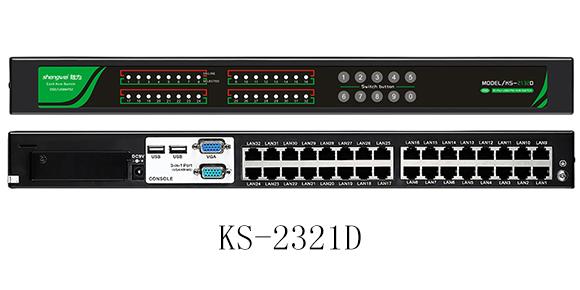 32口RJ45 KVM切换器-胜为科技