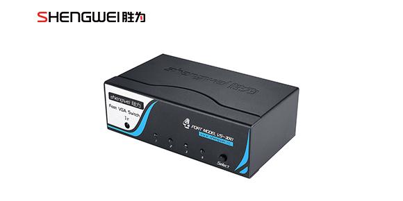 VGA切换器4进1出VS-3041    胜为科技