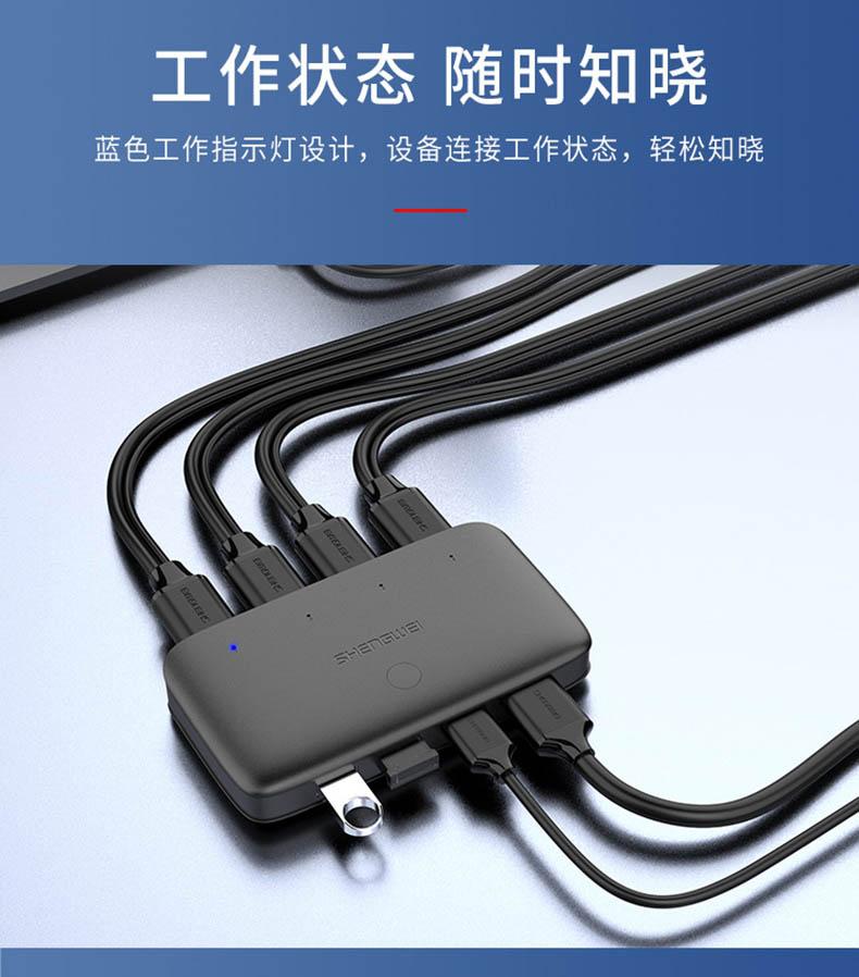 胜为4K高清4口HDMI KVM切换器__790_10
