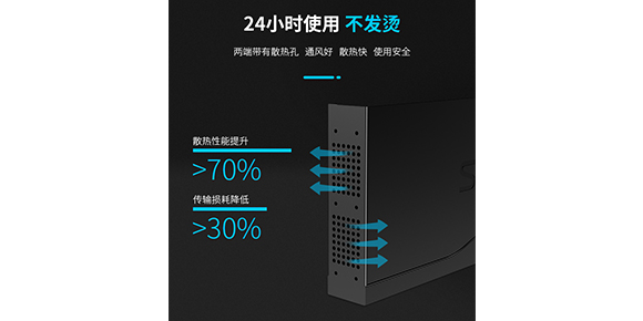 胜为16口HDMI视频分配器-散热通风口设计