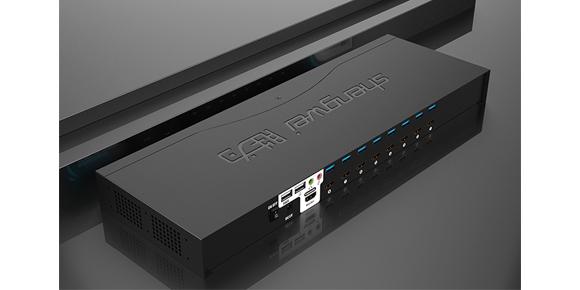 胜为机架式8口高清HDMI KVM切换器KS-7081H